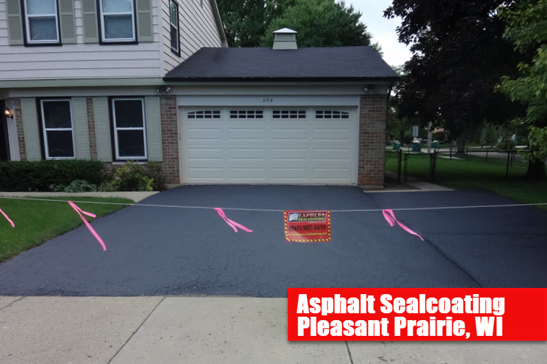 Asphalt Sealcoating Pleasant Prairie, WI