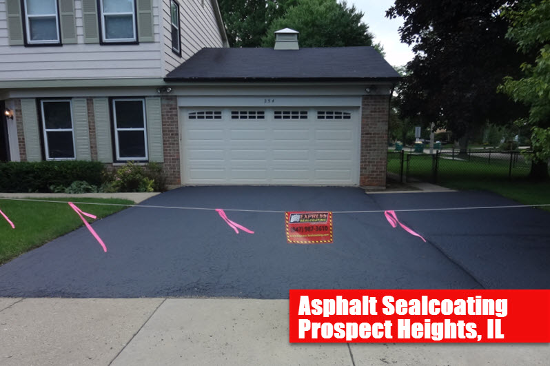 Asphalt Sealcoating Prospect Heights, IL